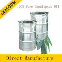 100% pure and natural eucalyptus essential oil in bulk private label offered 180KG