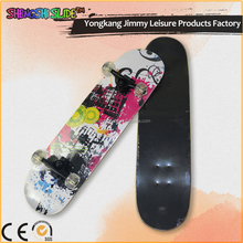 3108c high quality maple pu wheels skate long board skateboard
