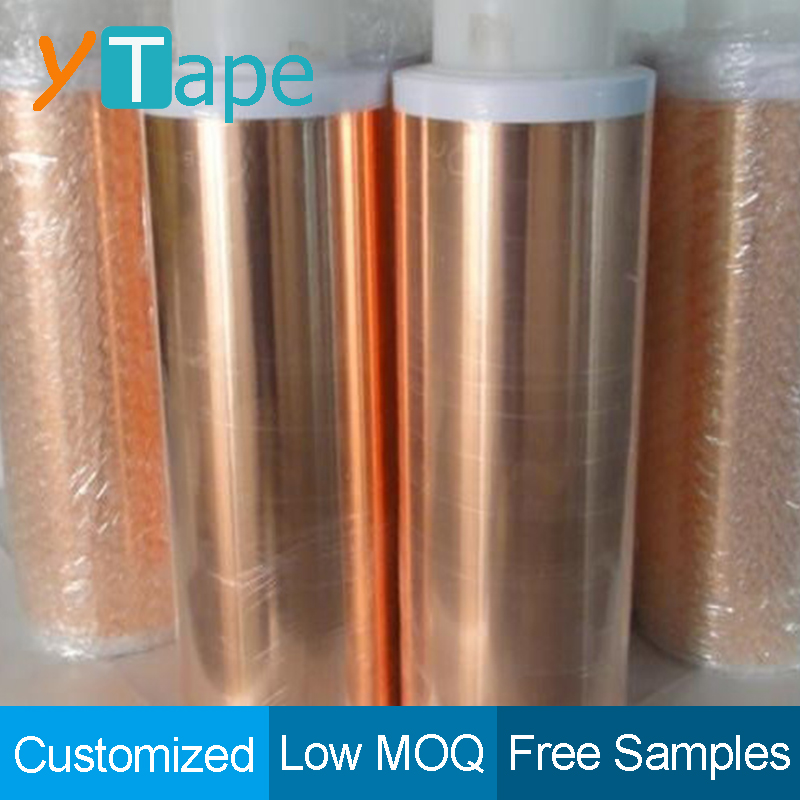 PET Laminated Film Copper Foil Electrically Thermally Conductive Tape