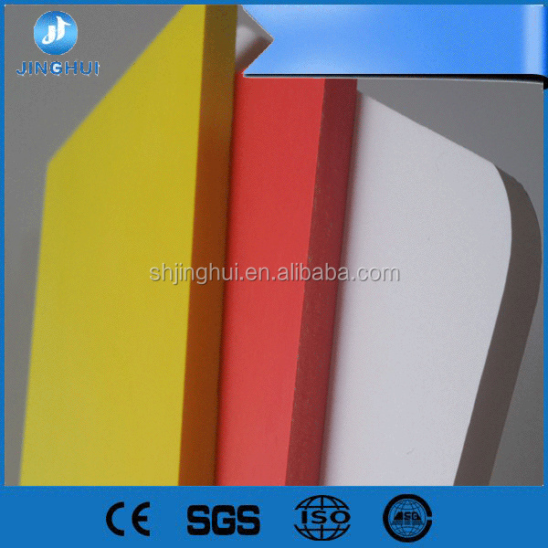 High impact strength waterproof hard surface 30mm pvc foam board for Architecture