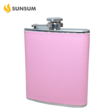 Made In China Reasonable Price Pink Hip Flask