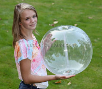 Clear GLOW STICK or SPRINKLER Beach Ball w/ Clear Tube