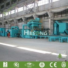 QXY Series Steel Plate Surface Automatic Pre-Treatment Line/Roller Type Shot Blasting Machine/Wheel Blasting