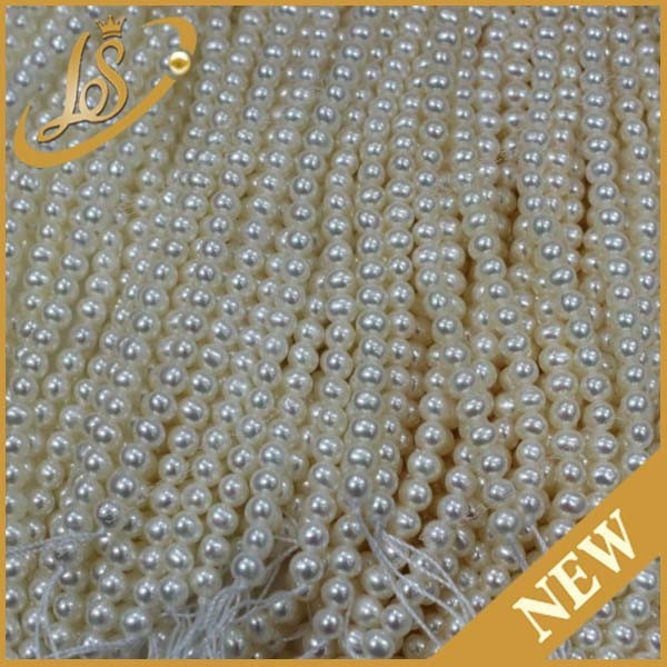 Loose pearl round white wholesale pearl jewelry