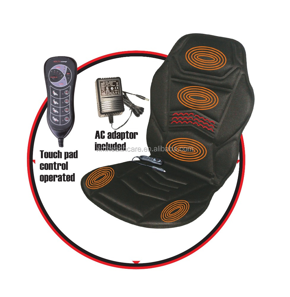 Thermal Vibration Back Massage,Car And Home Seat Massage Cushion