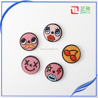 cute cartoon enamel charm acrylic pin brooch jewelry accessories for women broches