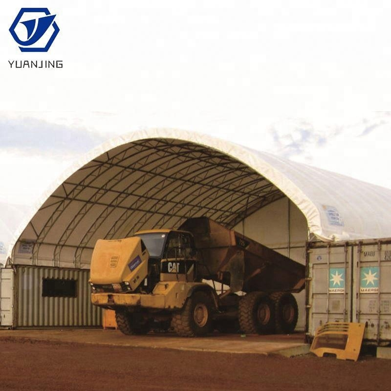 Expandable Tecome Container 40 Feet Shelter Dome House Outdoor Temparary Storage Garage Shed Shipping Container Canopy Tent