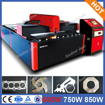 Yag laser metal cutting machine