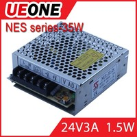 ueone meanwell nes-35-24 switching model power supply 24v 1.5a