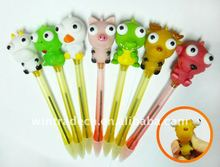 Novelty Cartoon Flashing Animal Pen