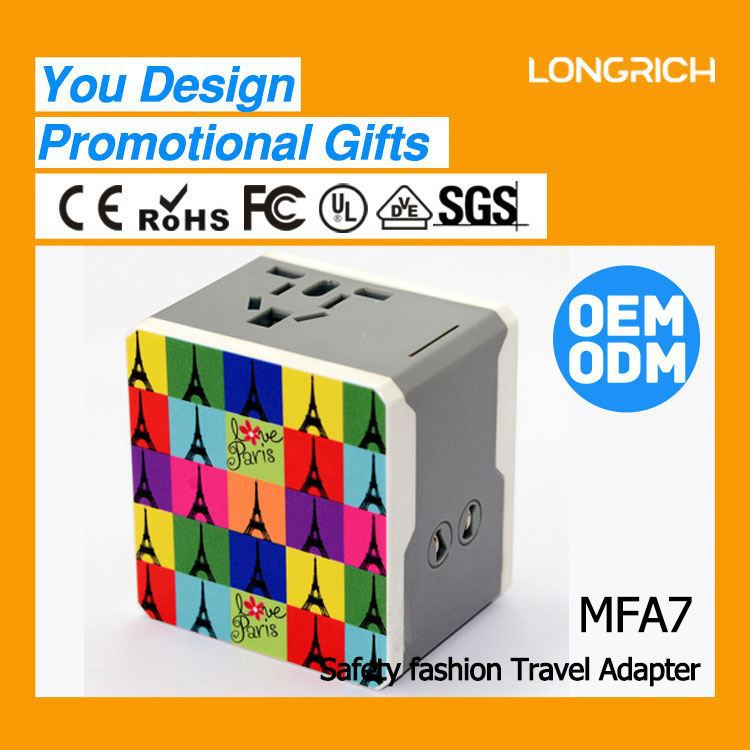 LongRich laptop universal power supply adapter special design promotional gift items for kids