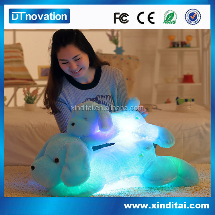 China Wholesale Led Small Stuffed Puppies For Kids Manufacturer