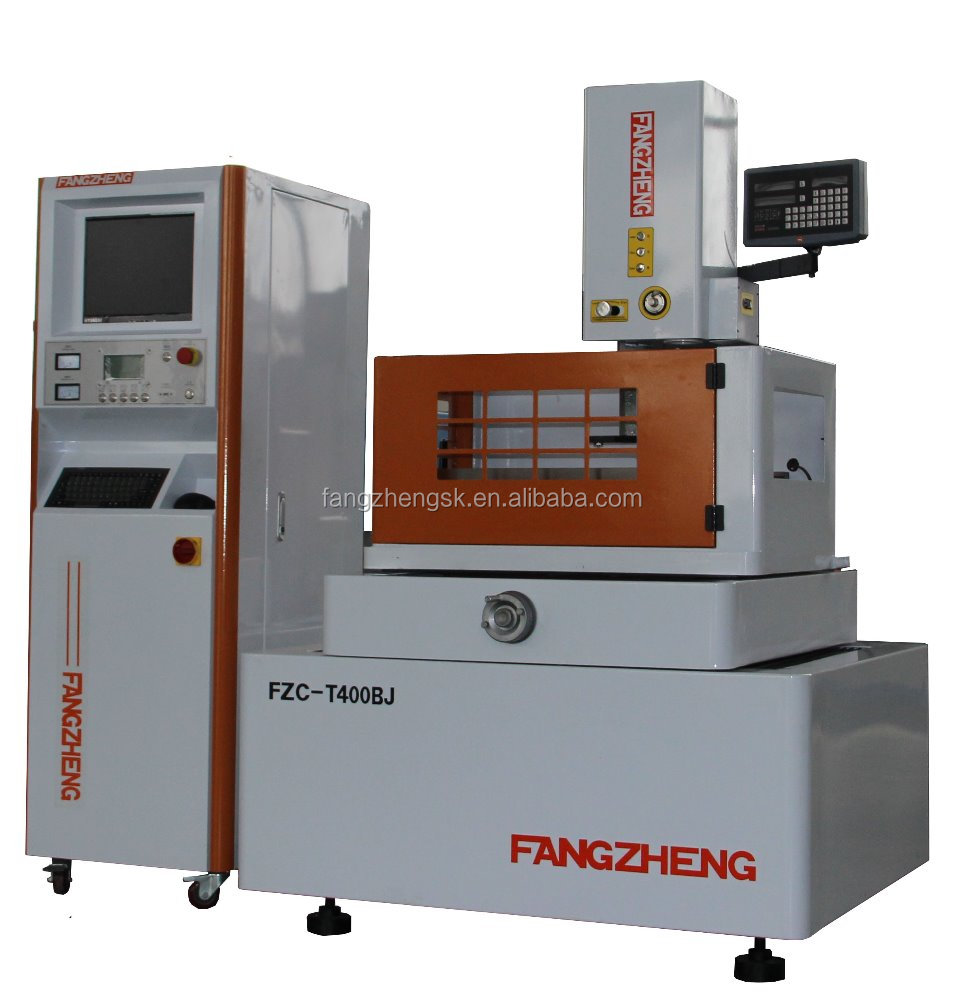cnc wire cutting edm with linear guide