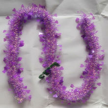 New Fashion PET/PVC Tinsel Garland For Decoration Party/Christmas/Easter