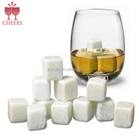 Whisky Ice Stones Drinks Cooler Cubes Whiskey Scotch on Rock Ceramic ,whiskey ice stone, ice cube