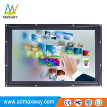 High Resolution 27 Inch Touch Screen Resistive LCD Monitor Factory China Shenzhen
