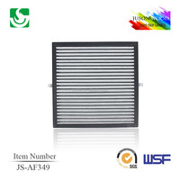 JS-AF349 low price new design air filter car