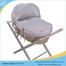 OEM baby basket set baby carriage crib