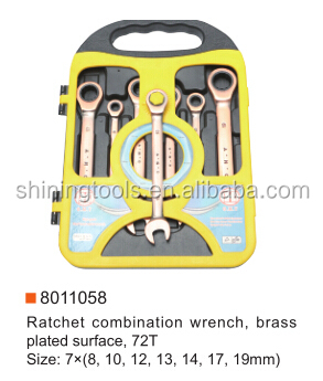 Ratchet Combination Wrench