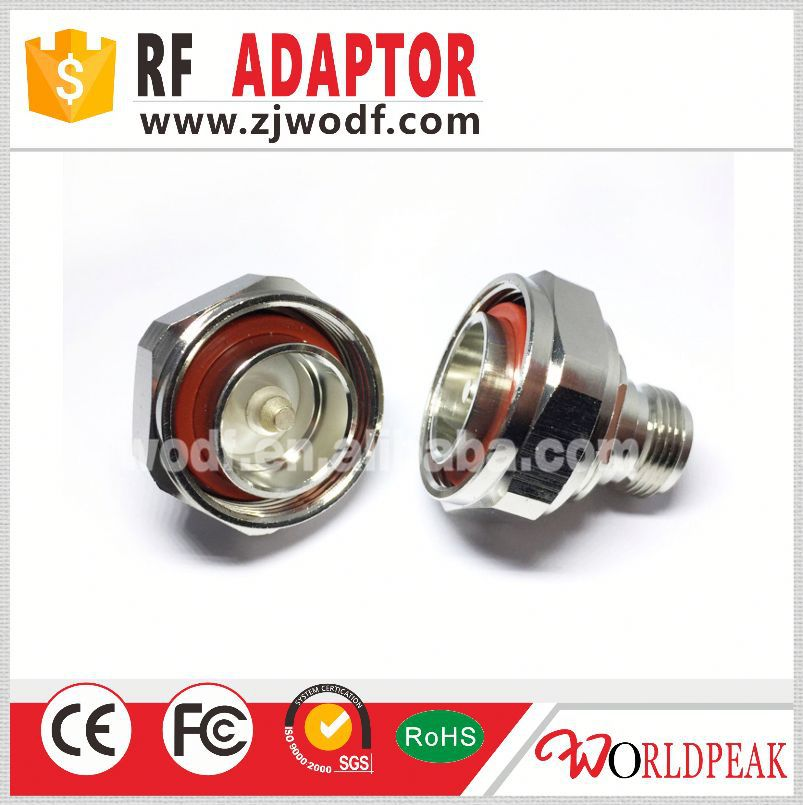 hot selling rf coaxial N type connector N female to 7/16 Din male adapter