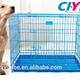 Plastic tray folding metal wire bottom tray pet cage