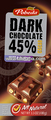 dark chocolate nuts&raisins 45% cocoa