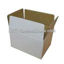Natural White Cardboard Box for shipping
