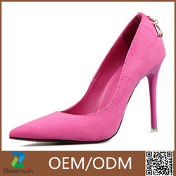 Pu Leather Upper Material and Pu Leather Outsole Material ladies shoes