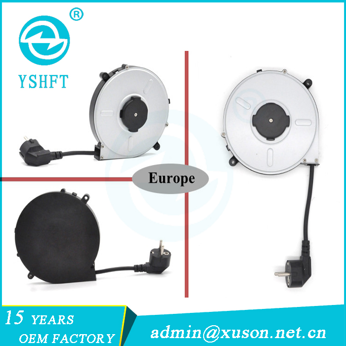 Industrial Equipment Application Automatic retractable cable reel,electrical extension cords