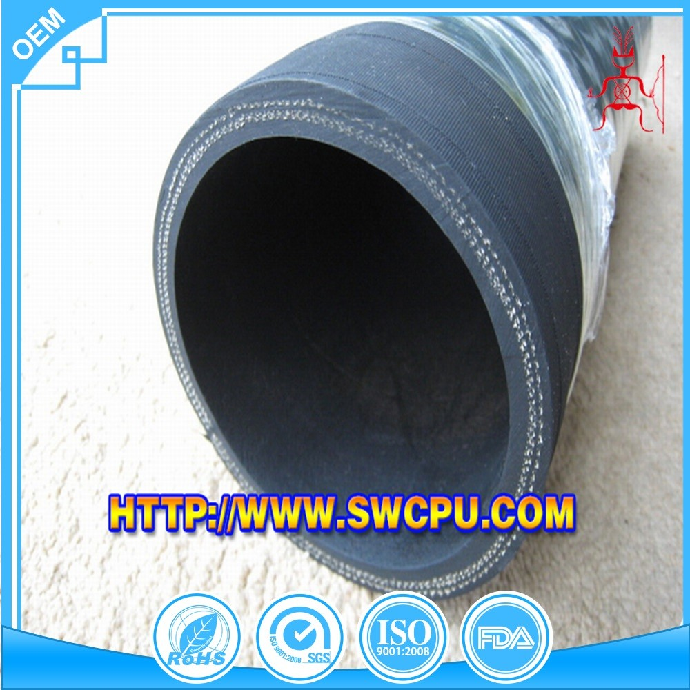 Custom dredge 8 inch diameter rubber hose
