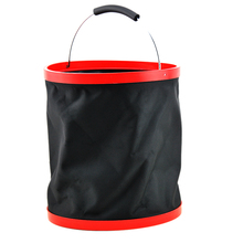 Outdoor Collapsible Folding Oxford Water Bucket For Camping Hiking Beach