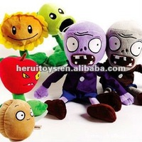 plants vs zombies plush stuffed toy&anime product plush baby toy