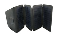 2017 Mini wallet foldable sunpower portable solar panel charger 5V 6W for mobile emergency outdoor and travelling