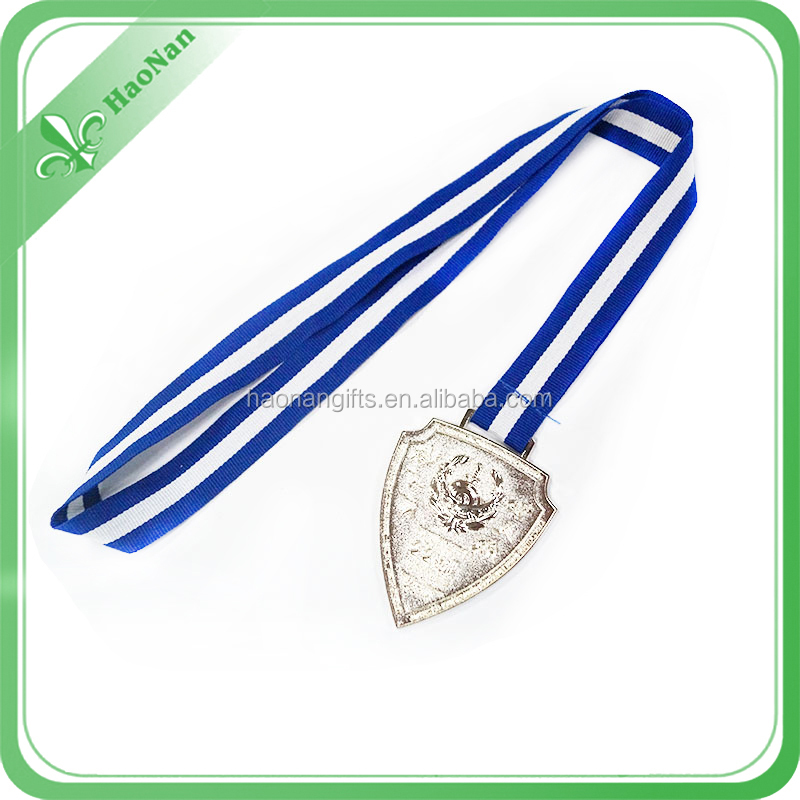 wholesale custom award metal medal ribbon