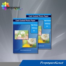 factory supply cast coated glossy inkjet paper