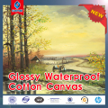 Waterproof 100% Cotton Canvas Inkjet printing 300g 340g 360g 370g 380g