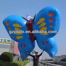 gaint butterfly rubber inflatable animal for advertising/decoration