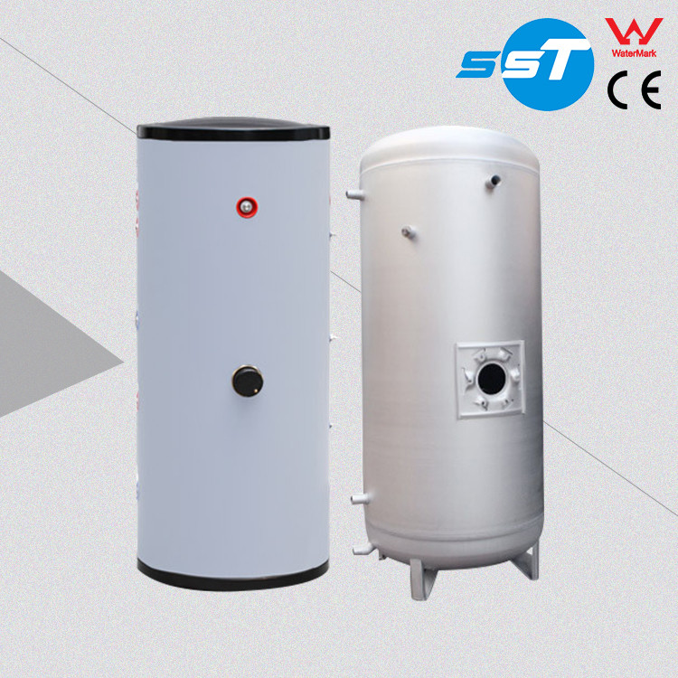 Electric dual cylinder boiler water tank 400 liter,china 4kw water boiler heater element