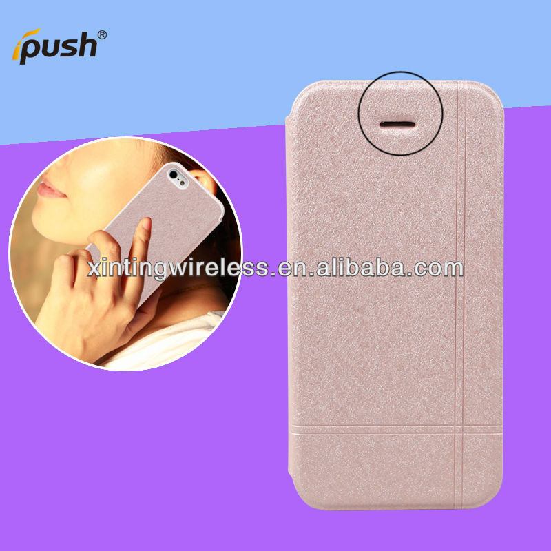 Smart cover case for iPhone5,PU leather cover