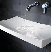 Artificial Stone Art Wash Basin,Handmade Carved Stone Bathroom Sinks