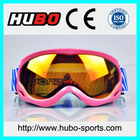 Fashion design anti slip strap motorcycle glasses motocross goggles kid
