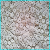 polyester cotton embroidery designs lace fabric