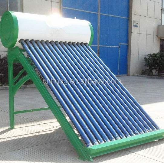 unpressurized vacuum tube solar hot heater balcony solar collector for solar water