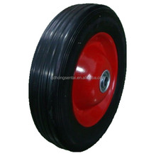 "10 inch 10""X2.5"" solid rubber tires wheels for hand trolley"
