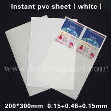 alibaba glossy plastic instant sheet dragon sheet PVC sheet 0.76mm