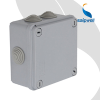 SAIP/SAIPWELL Hot Selling 120*80*50mm Gray Cover IP44-IP67 Hard Plastic Case Box
