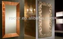 wall decor silver mirror
