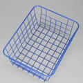 550-13B hot sale blue color desk wire basket for storage