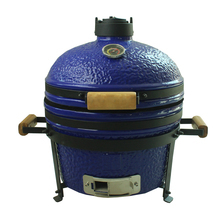 2017 New Arrival Stainless Steel Barbecue Grill Equipment Kamado 16Inch blue bbq smoker