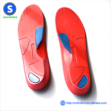 Adjustable Eva orthotic insoles custom orthotic Foot Arch Support insoles